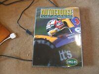 Autocourse Book 1992-93 1992 F1 Grand Prix Season Hardback Pictoral Review