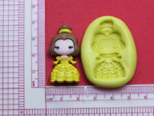 Princess Beauty Character Silicone Mold A951 Candy Chocolate Fondant Wax Resin