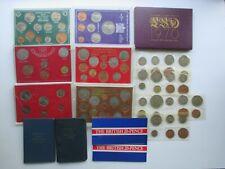 LOT OF (13) GREAT BRITAIN AND IRELAND COIN SETS - PLUS 2 BONUS BRITISH 20 PENCE