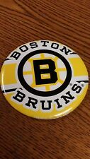"NHL BOSTON BRUINS 3"" BUTTON PIN NICE 1989 GREAT CONDITION"