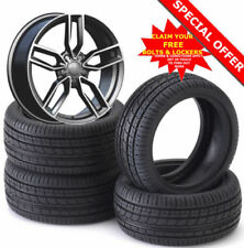 Aluminium A4 Summer Wheels with Tyres