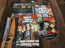 Grand Theft Auto III Playstation 2 game Used Free US Shipping