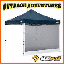 6 x OZTRAIL GAZEBO MESH SIDE WALL FOR 3 x 3m DELUXE AND STANDARD GAZEBO