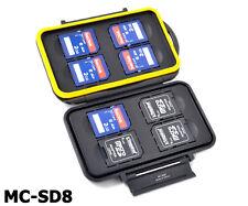 Jjc Memory Card mini case mc-sd8 tarjetas de memoria de caja cards 8x SDHC micro