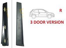 VERTICAL EXTERNAL DOOR PILLAR TRIM COVER RIGHT FOR FORD FIESTA MK6 VI 02-08 3-D
