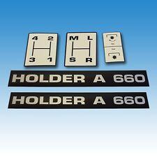 Aufkleber-Satz Holder A 660 5-teilig Traktor Schlepper 015325