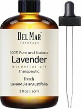 Aceite Esencial De Lavanda Francesa Puro Natural Grado Terapéutico Aromaterapia