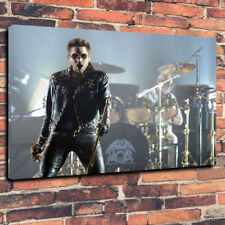 "Adam Lambert In Concert With Queen Printed Canvas Picture A1.30""x20"" 30mm Deep"