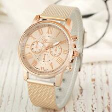 Elegant Women Watch Lady Dress Quartz Analog Wristwatch Alloy Band Strap Gift