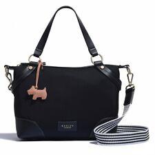 Radley BNWT Bloomsbury Way Medium Zip Top Multiway Bag Black RRP:£99.00