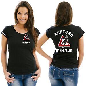 Handball Damenshirt Girlieshirt Trikot Damen T-Shirt Training Bekleidung EM 21