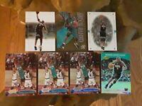Shareef Abdur-Rahim Lot of 7 Base/Inserts/Acetate Basketball Cards