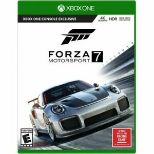 Forza Motorsport 7 Xbox One  -  Xbox One exclusive - ESRB Rated E - Racing game