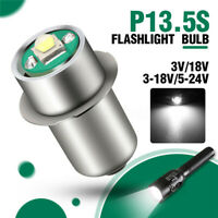 P13.5S 3W 3V/3-18V LED Flashlight Replacement Bulb Torch Lamp Work R