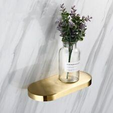Stainless steel304 Bathroom Gold Brushed Shower Shelf Bath Rack Storage Holder