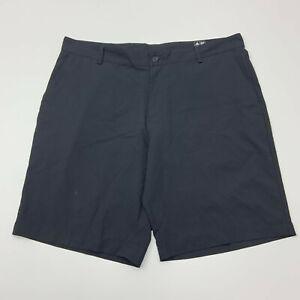 Adidas Golf Shorts Mens 40 Black Polyester Golfing
