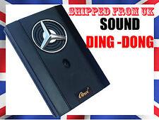 220v volts Wired Black Door Bell DING DONG TONE Doorbell   (BENZ) @UK