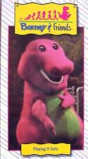 NEW SEALED Barney & Friends PLAYING IT SAFE Time Life Video VHS 1992 OOP