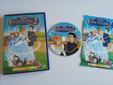 LA CENICIENTA 2 LA MAGIA NO TERMINA A MEDIANOCHE DVD WALT DISNEY ESPAÑOL ENGLISH