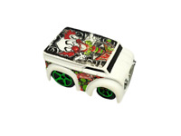 2005 Hot Wheels Crazed Clowns II Series DAIRY DELIVERY (Blings) #5 1:64 Scale
