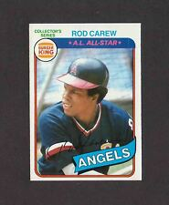1980 Burger King Pitch Hit and Run #14 ROD CAREW Angels NRMT No Creases