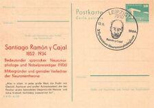319363) DDR Privatganzsache Nobelpreisträger Santiafo Ramon y Cajal