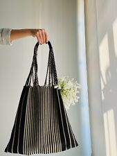 Marni inspired mexican tote shopping bag