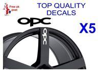 5 X OPC ALLOY WHEEL Decals  sticker