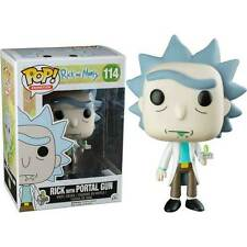 Rick & Morty - Rick with Portal Gun US Exclusive Pop! Vinyl Figure NEW Funko