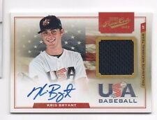 Kris Bryant 2012 Playoff Prime Cuts RC Jersey Relic AUTO #2 Chicago Cubs 39/199