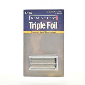 Remington SP-80 Triple Foil Shaver Head Replacement! New & Sealed - SP80