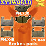 FRONT REAR Brake Pads for Honda CBR 600 RR3/RR4 2003-2004