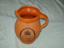 More details for mr brannam`s celebrated devon terracotta fruit juice jug 17 cm high 12 cm wide
