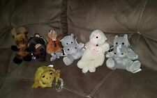 "Vtg 1990s Coca-Cola Lot Bean Animals 6"" Plush Soft Toy Stuffed Animal w/tags New"