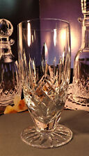 Waterford Crystal Lismore Footed Iced Tea Glasses Barware/Giftware 588/318