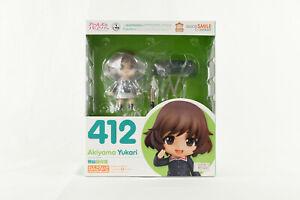 Goodsmile Nendoroid 412 Akiyama Yukari Girls und Panzer Figure NIB