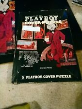 PLAY BOY  COVER PUZZLE OVER 300 PC JIGSAW  PUZZLE