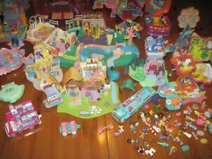 VINTAGE MINI POLLY POCKET XXL SAMMLUNG KOVOLUT
