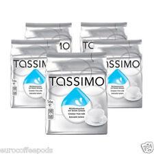 Tassimo Leche Crema T Disc Cápsulas-para el café negro 5 paquetes, 80 T-Disc