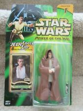 Star Wars Power of the Jedi Action Figure Obi Wan Kenobi Jedi 2000