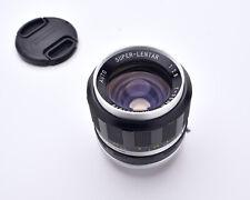 Super-Lentar Auto f/2.8 35mm Wide Angle Lens Caps M42 Mount (#6846)