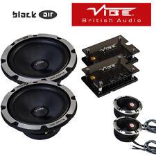 """Vibe BlackAir 6C-V6B - 6.5"""" 2-Way Coche Componente Altavoces 720W Potencia Total"""