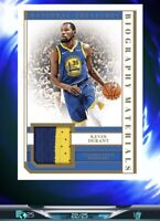 Kevin Durant 22/25 SSP 2018 National Treasures Patch - NBA Dunk *DIGITAL CARD*