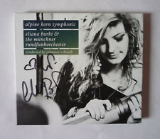 ELIANA BURKI & THE MUNCHNER RUNDFUNKORCHESTER - ALPINE HORN - SIGNED COPY CD