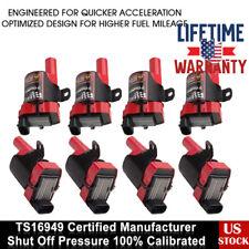 8 Ignition Coils Pack For Chevrolet Silverado GMC LS1 LS3 4.8/5.3L D585 UF-262