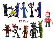 12pcs SET FNAF Five Nights at Freddy's Toy Action Figures Christmas Xmas Toppers
