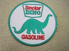 """Sinclair Dino Gasoline Oil 3"""" Round Embroidered Iron On Car Patch FREE SHIPPING"""