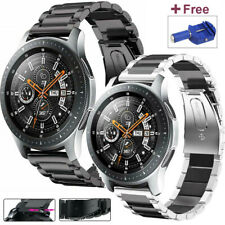 Stainless Steel Watch Band Strap For Samsung Galaxy Watch 42 46mm/Active 2 40 44