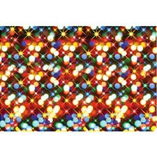 CHRISTMAS LIGHTS Holiday Party pHOTO BOOTH Prop Decoration Wall Mural BACKDROP
