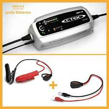 CTEK MXS 10 Batterie Ladegerät 12V für große Batterien mit hoher Ah Zahl MXS10